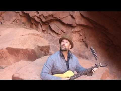 Matt Graham singing improv in the canyons