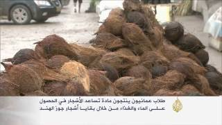 طلبة عمانيون يبتكرون مادة هلامية لري الأشجار