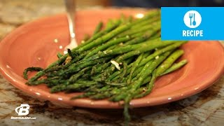 Healthy Recipes: Death By Garlic Roasted Asparagus