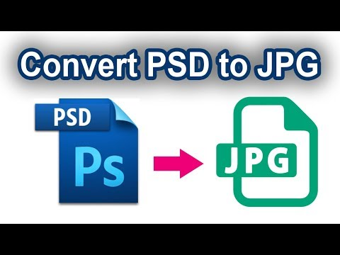 How To Convert Multiple Image PSD To JPG With Automate Batch In Photoshop CS6