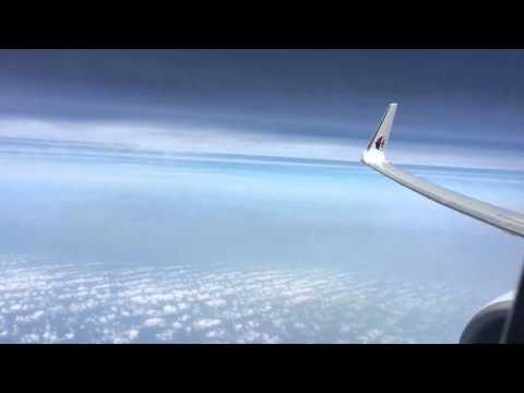 Malaysia Airlines B737-800 through South China Sea, Kota Kinabalu - Kuala Lumpur