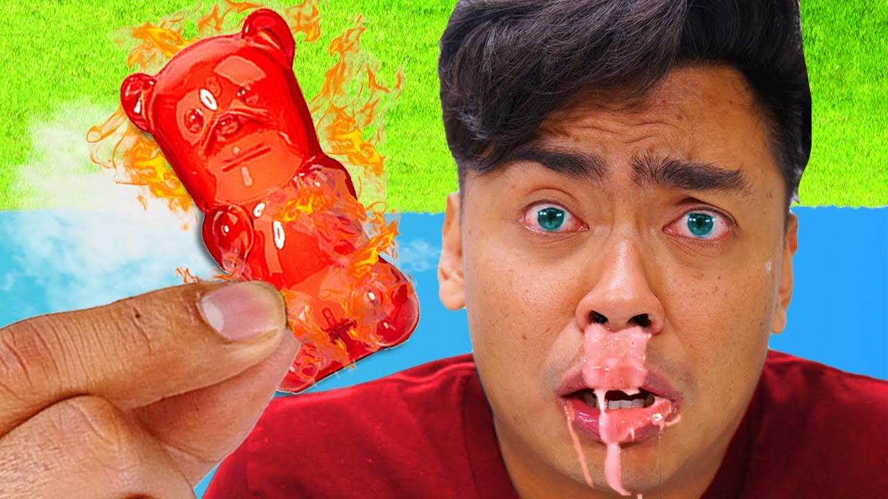Eating The WORLD's HOTTEST Gummy Bear
