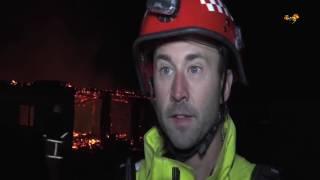 Ny brand i Eslöv – ödegård övertänd