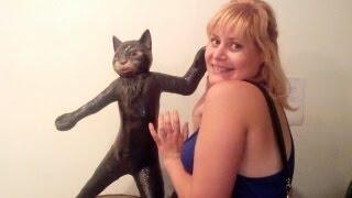 Кошки пищат от такой игрушки !!! Сats like this toy !!!
