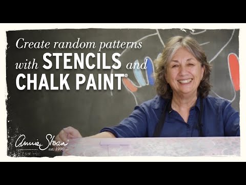 How to create random patterns using Chalk Paint®