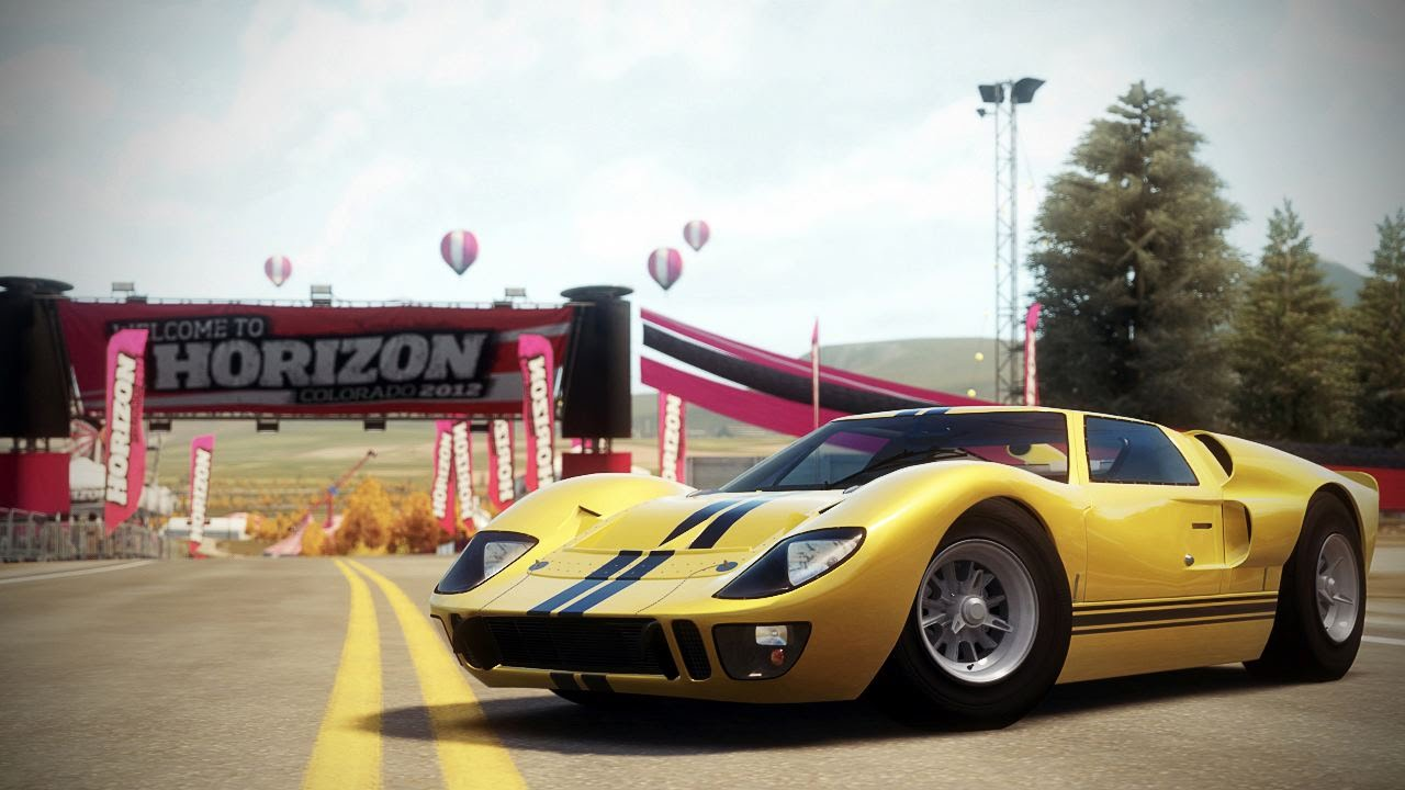 Forza Horizon  Ford Gt Mk Ii   Degree View  D Be D B D B D Be D    D B D  D B D B D  D  D Be D B