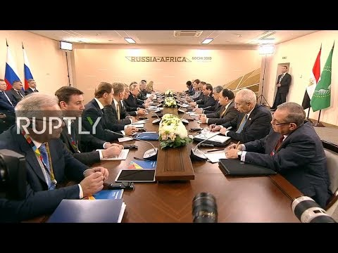 LIVE: Russia-Africa Forum begins in Sochi (ENG)