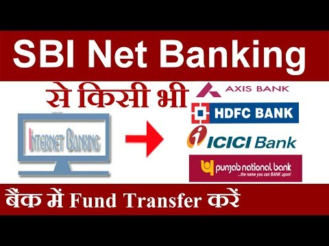 How to Transfer Money from SBI Online to Other Bank Account
