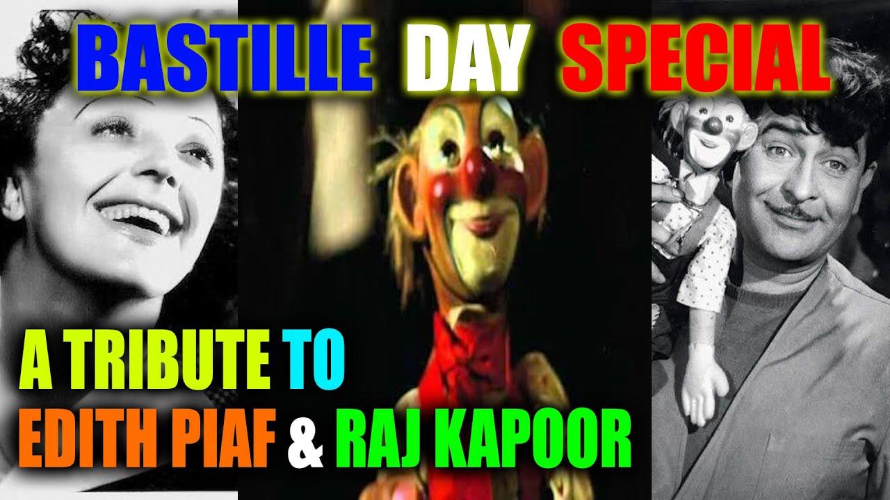 Tribute To Raj Kapoor & Édith Piaf | Bastille Day Special 2020 | Ft. Somrita | Khokon & Co.