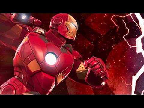 Marvel: Contest of Champions - Civil War - Team Iron Man [FULL BATTLES]