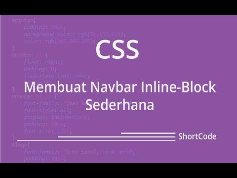 Membuat Sebuah Vertical Navbar - CSS [ Develop Code ]
