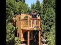 Hobbit Hole Playhouse Part 5 of 5:  Balcony, Doorbell, Fireplace, finishing touches
