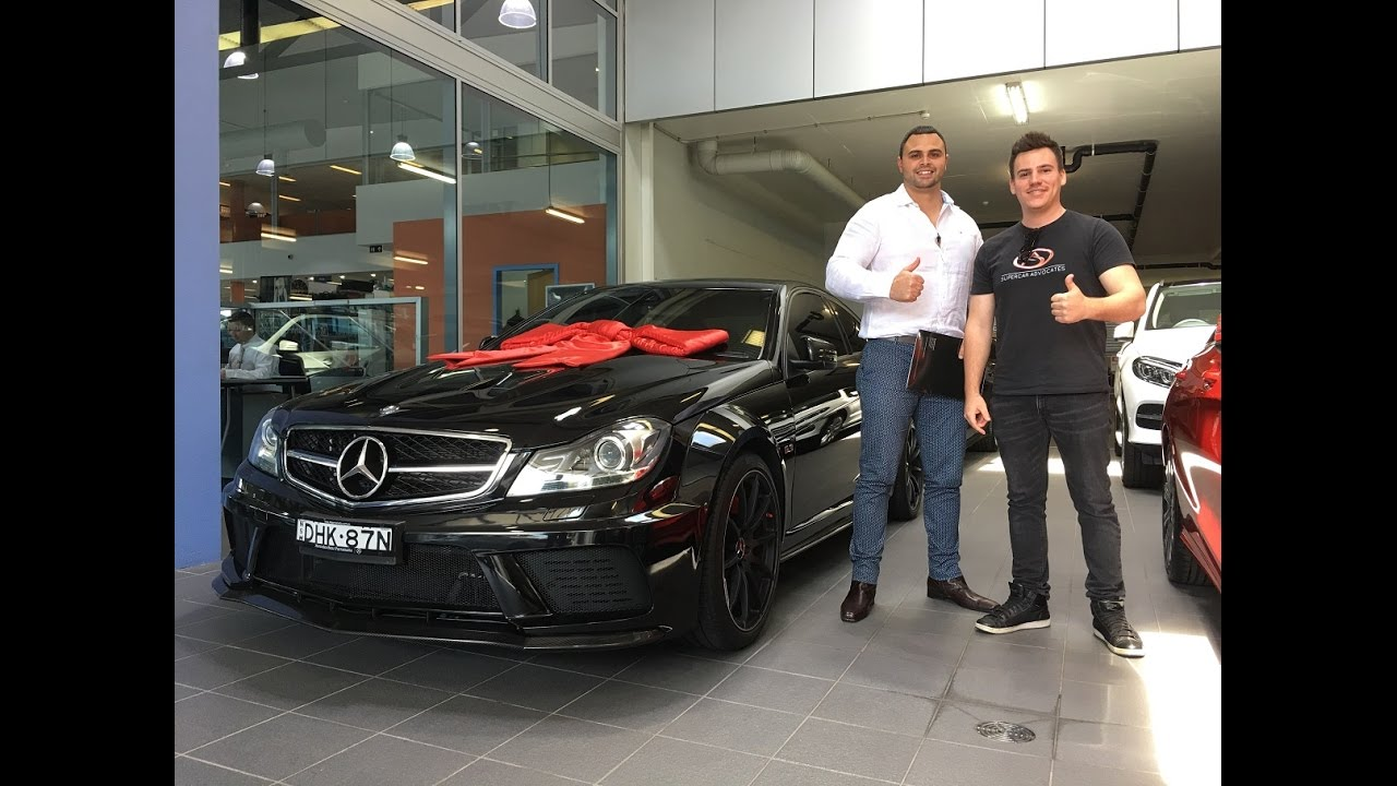 collection day mercedes benz amg c63 black series youtube. Black Bedroom Furniture Sets. Home Design Ideas