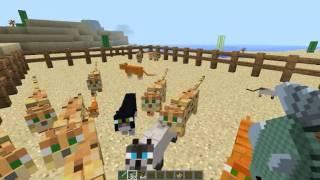 Minecraft Eğlencesi Bölüm 2 :Ocelot'u kediye çevirme
