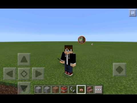 How To Get Your Minecraft Skin Head In Minecraft Pe NO COMPUTER - Minecraft wiki spielerkopfe