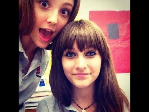 Paris Jackson at the Buckley School