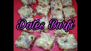 Dates Burfi    Healthy Sweet Recipe    Quick and Simple Recipe in Tamil