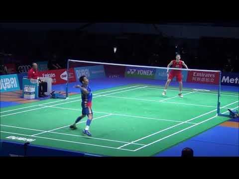 Viktor Axelsen First Win Against Lee Chong Wei | Nice Angle AMAZING Match