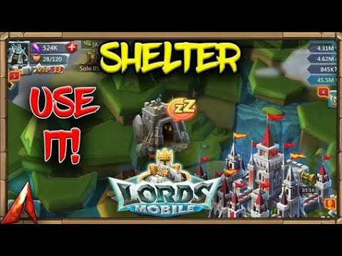 Lords Mobile What Is Shelter In Hindi