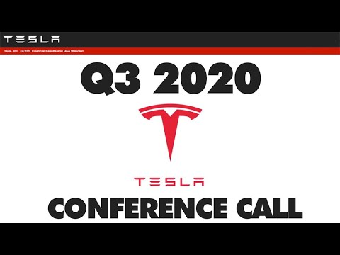 Tesla, Inc. (TSLA) CEO Elon Musk on Q3 2020 Results - Earnings ...