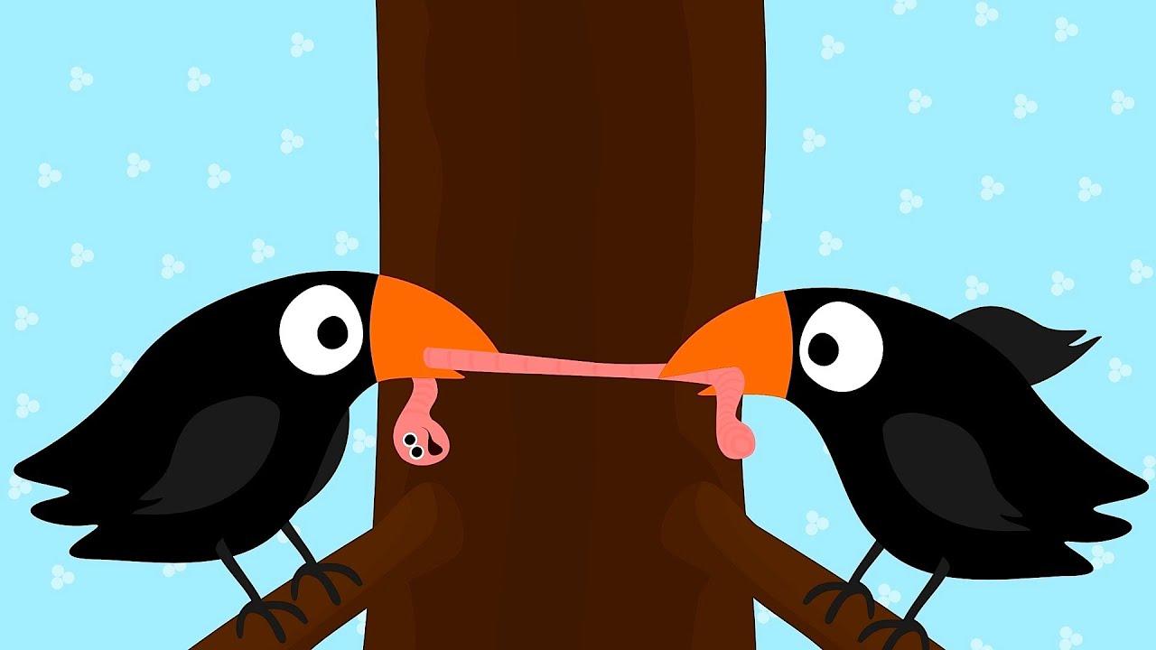 2 Little Blackbirds   Kids\' Songs - YouTube