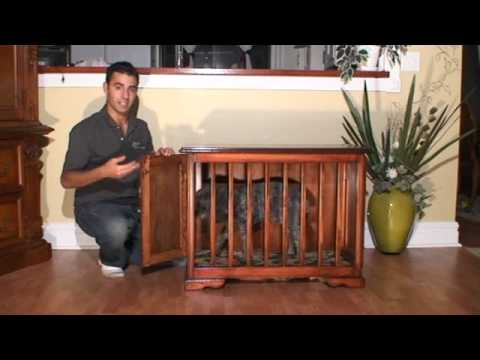 Glendale Woodworking Custom Furniture Style Dog Crate