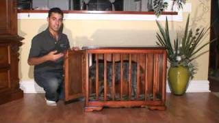 Glendale Woodworking - Custom Furniture Style Dog Crate