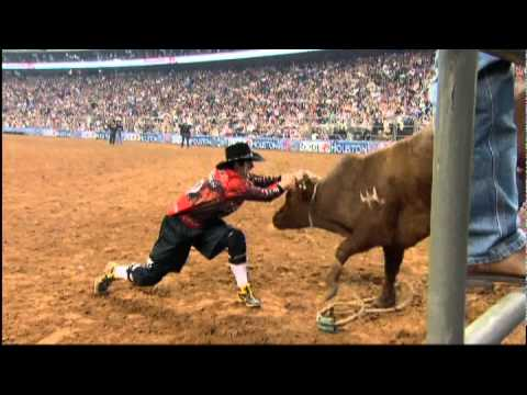 Bullfighters at Rodeo Houston