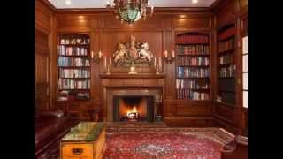 30 Inspiration Home Interior Library With Classic Design