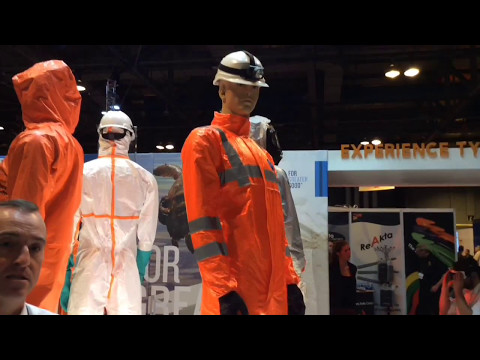 DuPont at Health and Safety Glasgow - new Tychem® range