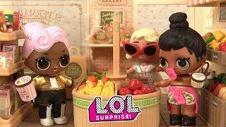 Histoires de Poupées LOL Surprise Série 2 au Supermarché Sylvanian