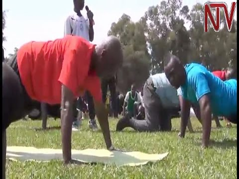 Point Blank: General Kayihura works out