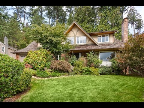 4627 Caulfeild Drive, West Vancouver, BC - Listed by Eric Langhjelm, Lotte Veng and David Matiru
