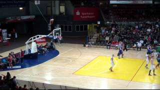 Tony Watson II # 21 Bayer Giants Leverkusen vs. Oettinger Rockets Gotha 03-17-2014