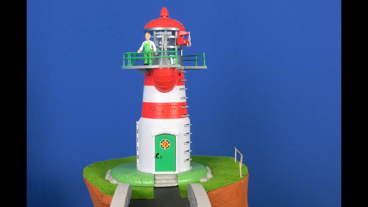 Feuerwehrmann Sam Unboxing deutsch: PontyPandy Leuchtturm
