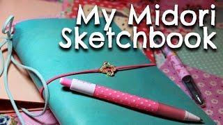 my midori sketchbook traveler s notebook