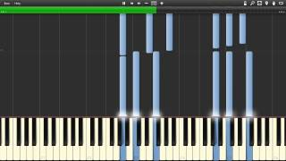 SHERlocked Synthesia [Piano and Violin Arrangement] - Sheet Music in Description