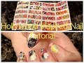 BornPrettyStore's Hollywood Water Nail Decal Tutorial!