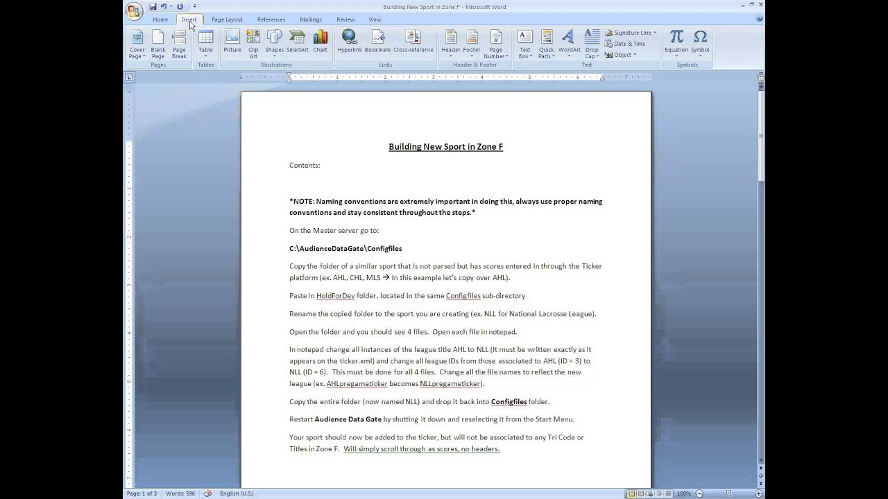 how to turn a word document into a link