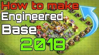 What is engineer Base and how to make engineer base | clash of clans 2018 | In Hindi | gaming 2.0
