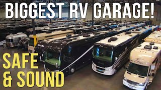 The Safest, Most Secure RV Storage We've Ever Seen! NIRVC To The Rescue.