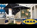 IKEA SUMMER OUTDOOR FURNITURE HOME DECOR IDEAS SHOP WITH ME SHOPPING STORE WALK THROUGH 4K