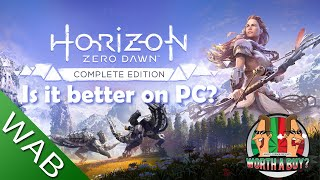 Horizon Zero Dawn PC Review - Is it better on PC? (Video Game Video Review)