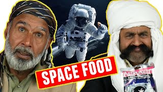 Tribal People Try Astronaut Food {NASA Food}
