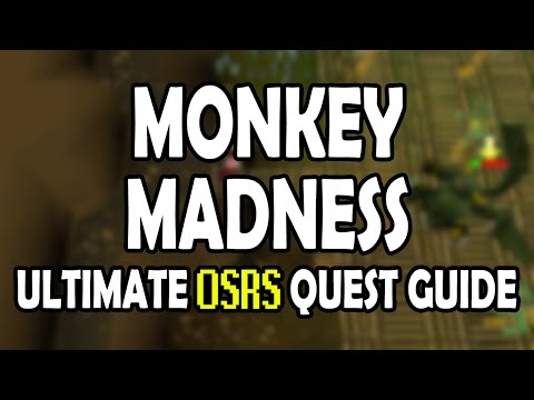 [OSRS] Monkey Madness 1 Quest Guide for Pures on Old School RuneScape