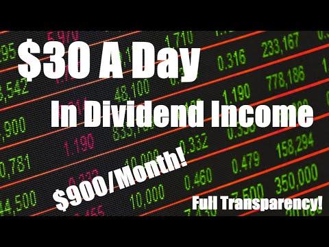 $30/Day Dividend Income | $366,000 Dividend Portfolio | Passive Income | October 2019 | Dividends