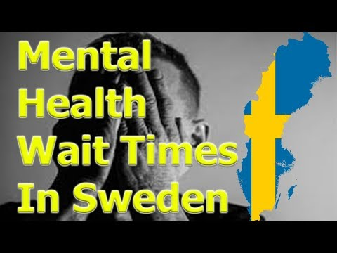 Mental Health Wait Times In Sweden