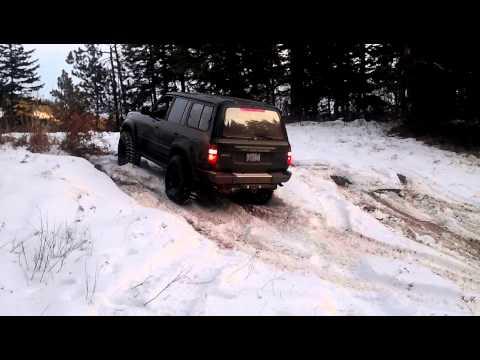 94 landcruiser snow wheeling