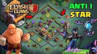 BH5 Builder Hall 5 Anti 1 Star Base With Replay!!! - Anti Night Witch/Anti Giant - Clash Of Clans