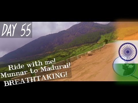 Day 55 | Ride with me from Munnar to Madurai! | MUNNAR - INDIA | Solo Travel Vlog
